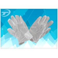China Vinyl Exam Gloves Industrial / Medical Grade , Powdered And Powder Free Style on sale