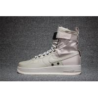 Buy cheap Light Bone 2017 fashion Nike AIR FORCE SF AF1 Grey men's trainers from wholesalers