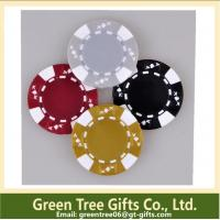 Buy cheap 3-tone Poker Chips,crown poker chip custom aluminium poker chip set casino clay pokerchips from wholesalers