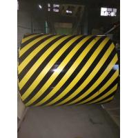 Buy cheap Zebra Crossing Pre Painted Galvanized Coils Width 700-1600MM For Traffic Material / Tool from wholesalers