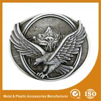 Buy cheap 3D Personal Decorative Custom Western Belt Buckle Two Colors Plating from wholesalers