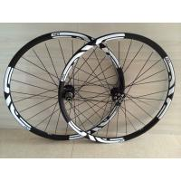 Buy cheap 2 year warranty 25mm depth wheelset D711SB/D712SB carbon wheels black 29er carbon Mtb wheels from wholesalers