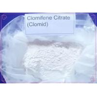 Buy cheap Anti Estrogen Clomid Steroids Clomifene Citrate Powder CAS 50-41-9 For Gynecologic Diseases from wholesalers