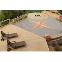 Buy cheap Waterproof WPC Decking Flooring Anti - slip , wood plastic composite panel product
