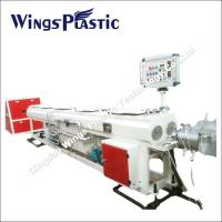 Buy cheap Double - PVC Conduit Pipe Manufacturing Machine / Extrusion Line from wholesalers