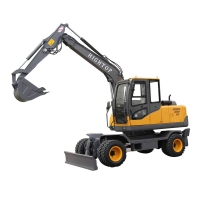 Buy cheap HT10 HT20 HT35 HT75 WHEEL EXCAVATOR FOR SALE WITH FAMOUS DIESEL ENGINE from wholesalers