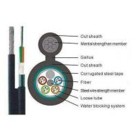 Buy cheap Aerial Fiber Optic Cable GYTC8S , Armoured Optical Fibre Cable For Outdoor Distribution from wholesalers