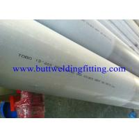 Buy cheap 15 - 300 mm SMLS , ASME B36.19 Duplex Stainless Steel Pipe 18  ASTM A790 / UNS S32205 from wholesalers