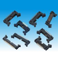 Buy cheap Industrial Straight Male Pin Header Connector , 2mm Header Connector Long Latch from wholesalers