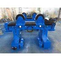 40 Ton Pipe Turning Rolls Movable To Automatic Rotate Pipes / Tubes / Cylinders Manufactures