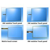 Buy cheap ITO film Glass USB Resistive Matrix industrial Touch screen Panel 4w 5w 8w from wholesalers