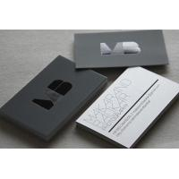 Buy cheap Custom Design Black Paper Business Card Offset Printing Free Samples from wholesalers