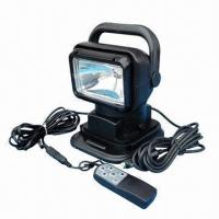 Buy cheap Wireless Remote Control Xenon HID Search Light with 35/55/70W Power Output from wholesalers
