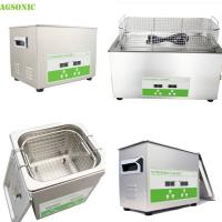 China Stainless Steel Tray And Cover Heater And Timer Digital Ultrasonic Cleaner on sale