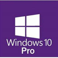 Buy cheap instant delivery Microsoft Windows 10 Pro Professional 32/ 64bit License Key Product Code win 10 pro retail key from wholesalers