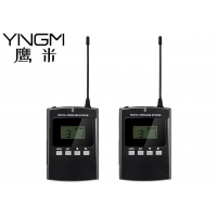 Wholesale 23 Channel 008B Dual Talk Wireless Audio Guide System 250KHz 823MHz from china suppliers