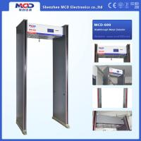 Wholesale High Sensitivity Walk Through Security Metal Detectors , Security Walk Through Gate 6 Zones from china suppliers
