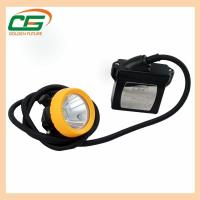 15000lux 6.6ah Li-Ion Battery Waterproof Led Industry Corded Mining Cap Lamp Manufactures