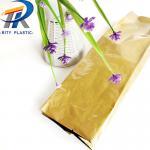 Buy cheap Aluminum foil plastic bag PET/AL/PE accordion pocket 80mic 3colors printing middle sealing bag from wholesalers