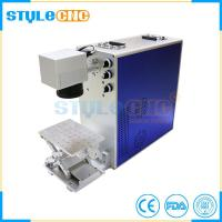 China Alumium steel marking laser marking machine with good price for sale on sale