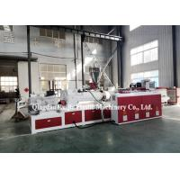Buy cheap Plastic SPC PVC Vinyl Flooring Board Extruder Making Machine from wholesalers
