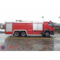 Buy cheap High Capacity Pumper Tanker Fire Trucks Power 265KW With Pump Drive System product