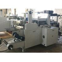 Buy cheap PP Foil / Aluminum Foil Label Die Cutting Machine 550mm Unwinding / Rewinding Diameter from wholesalers