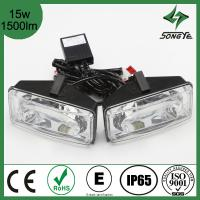 Buy cheap SUV LED car Light 2014 ATV 4X4 and LED Truck light square LED work light high power 15w 1500lm LED searchlight SY-008X3 from wholesalers