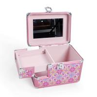 Wholesale Women Beauty Travel Abs Trolley Case Makeup Artist OrganizerWith Mirror from china suppliers