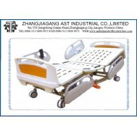 Buy cheap ABS Siderail 5 Function Electric Hospital Bed Remote Control with Center Control Braking from wholesalers