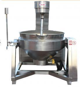 Stainless steel steam sandwich pot  steam pot, cooking pot, steam boiler. Material:SUS304/Q2358 SDJ-100 Manufactures