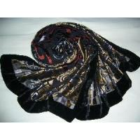 Buy cheap Burntout Silk Velvet Scarf (LC-C215) product