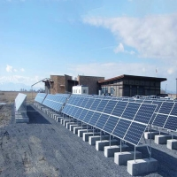Buy cheap Grid Tie Customized Tilt Angel Solar Panel Ground Mounting Systems from wholesalers
