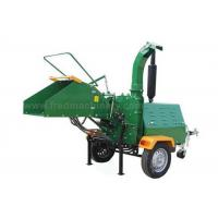 China 40HP 8 Inch Wood Chipper High Efficiency With 1025rpm Flywheel Turning Speed on sale
