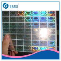Buy cheap Custom Hologram Stickers For Supermarket , Waterproof Laser Printer Labels from wholesalers