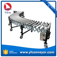 Wholesale 2021 China Professional Heavy Duty Galvanized Flexible Powered Roller Conveyor from china suppliers