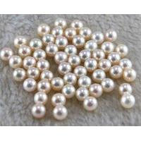Buy cheap Half Drilled Loose Akoya Pearl Beads from wholesalers