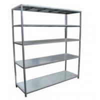 Buy cheap Commercial Kitchen five Tier Detachable Assembly Stainless Steel Shelving Units from wholesalers