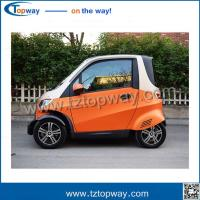 Buy cheap Steering wheel with air conditioner Mini Electric Vehicle car rickshaw for adult from wholesalers
