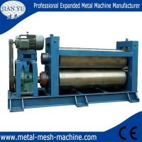 Buy cheap Expanded metal mesh flattening machine from wholesalers