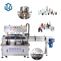 Buy cheap Manufacturer Quality Assurance  bottle  8 wheel screw linear capping machine high speed bottle capper capping machine from wholesalers