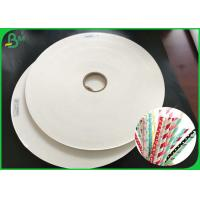 Buy cheap Eco - Friendly 60gsm 120gsm Straw Paper Rolls With FSC FDA For Strip Straws from wholesalers