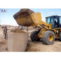 Buy cheap Military Geotextile Sand Filled Barriers , Hot Dipped Galvanized Hesco Type Barriers from wholesalers