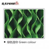 Buy cheap Evaporative cooling pad green color from wholesalers
