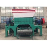 Buy cheap Two Shaft Car Tire Recycling Plant Waste Tyre Recycling Mchine Custom Color from wholesalers