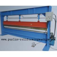 Buy cheap Slitter Hydraulic Bending Machine with Color Steel Panel , Steel Pipe / Tube Bender from wholesalers