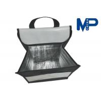 Buy cheap Square Flat folding lunch cooler bag promotional gift insulated lunch coolers from wholesalers