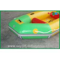Buy cheap 3 Person PVC Inflatable Boats Inflatable Water Toys 0.9mm PVC Tarpaulin from wholesalers