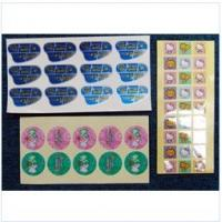 Buy cheap Grease proof custom prevail packing PET personalized funny colored sticker labels from wholesalers