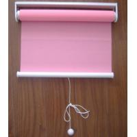 Buy cheap spring 100% polyester fabric roller blinds for windows with aluminum headrail and toprail from wholesalers